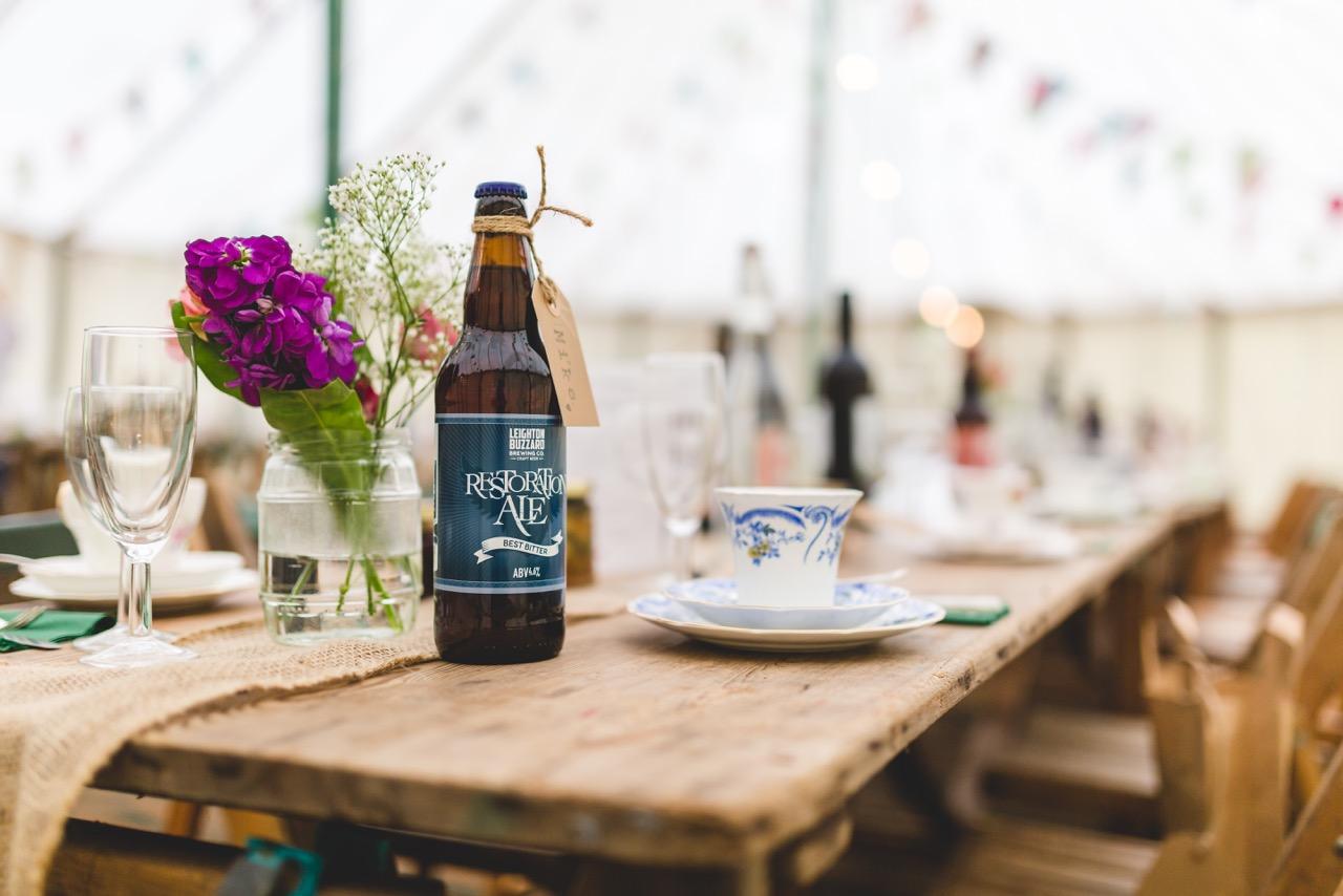 Norfolk based independent celebrants - Ale Bottle